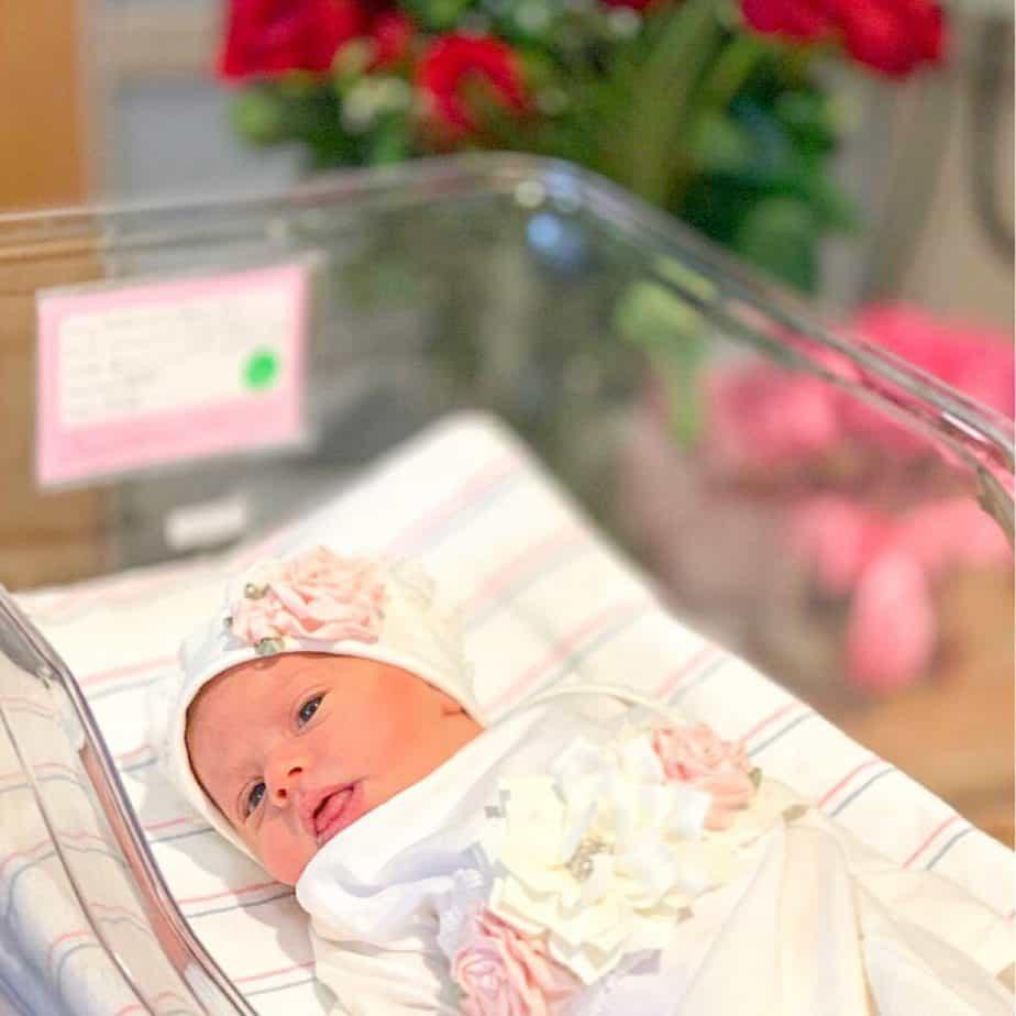 Baby Alina ready to meet the world!