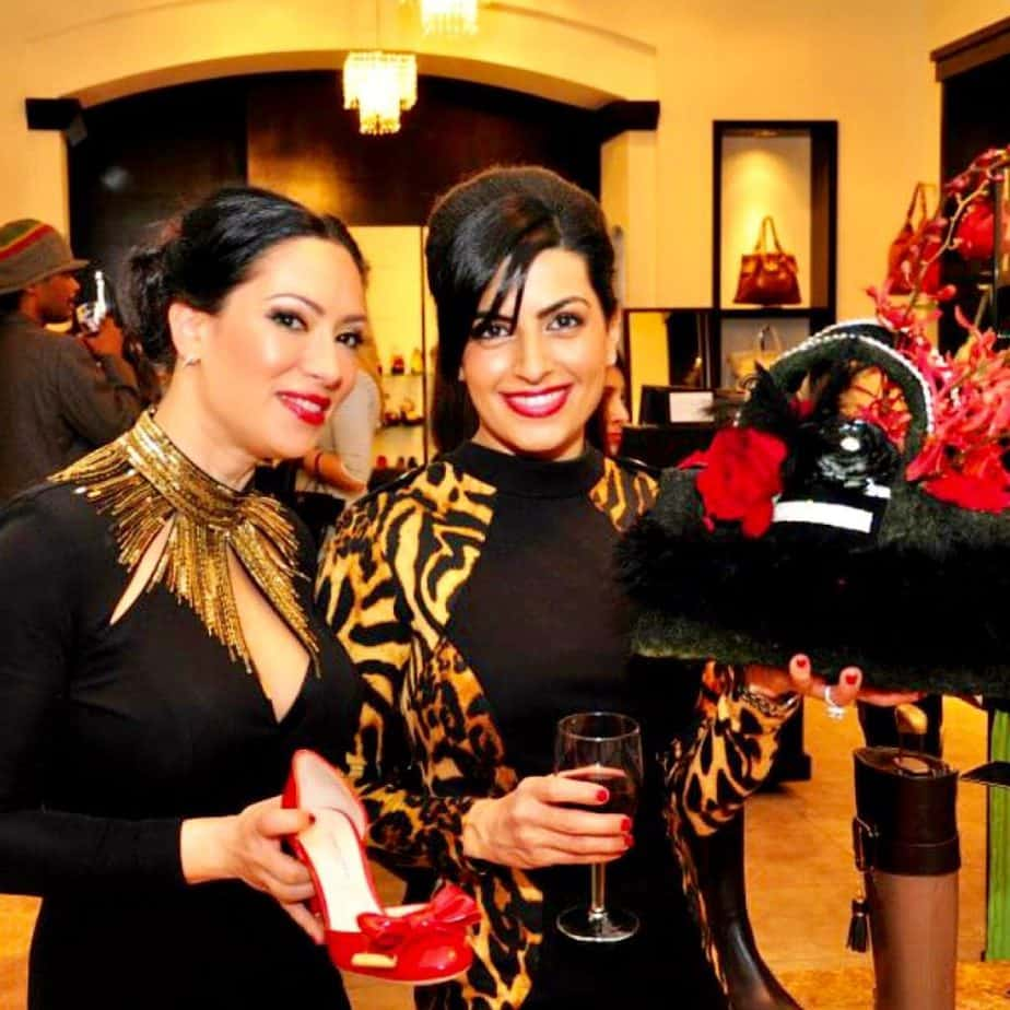 Glamorous launch event when we started our business in Arizona