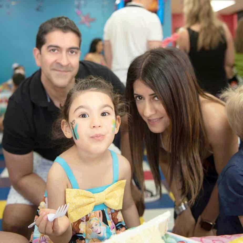 My beautiful daughter enjoying her birthday with family