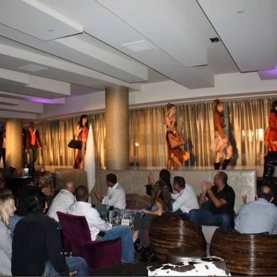 One of our well attended fashion shows and fundraisers that our business organised in Arizona