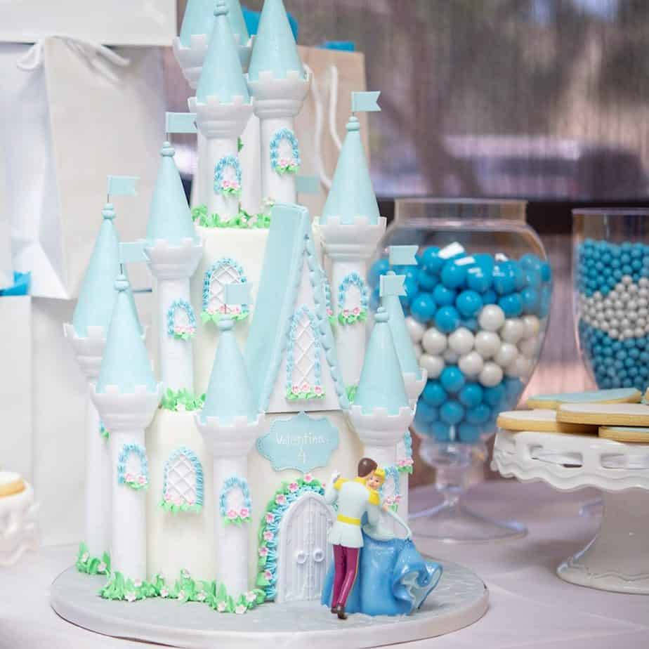 Cinderella cake - my daughter favorite!