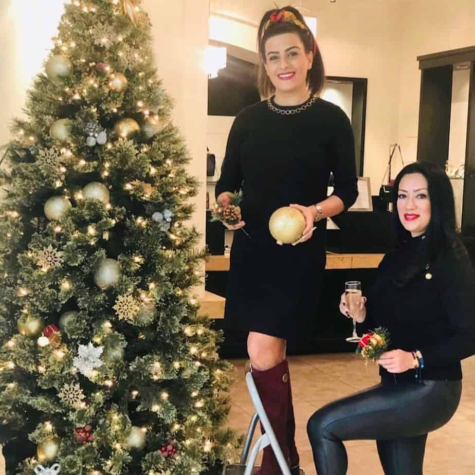 Christmas celebrations for the business partners in Arizona