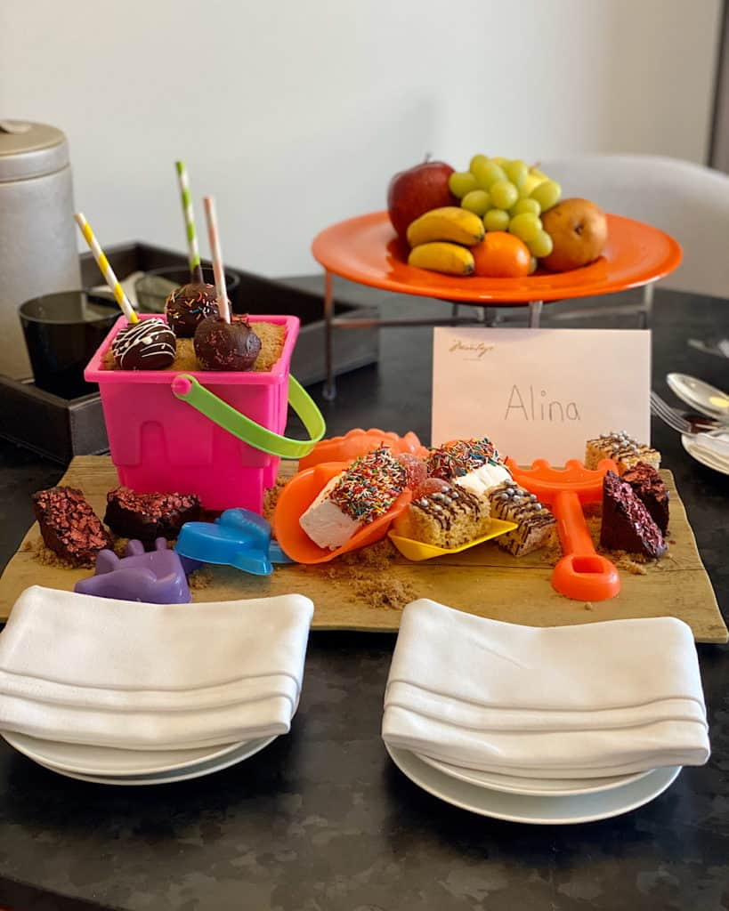Extra touches at Montage Los Cabos, Cabo san Lucas