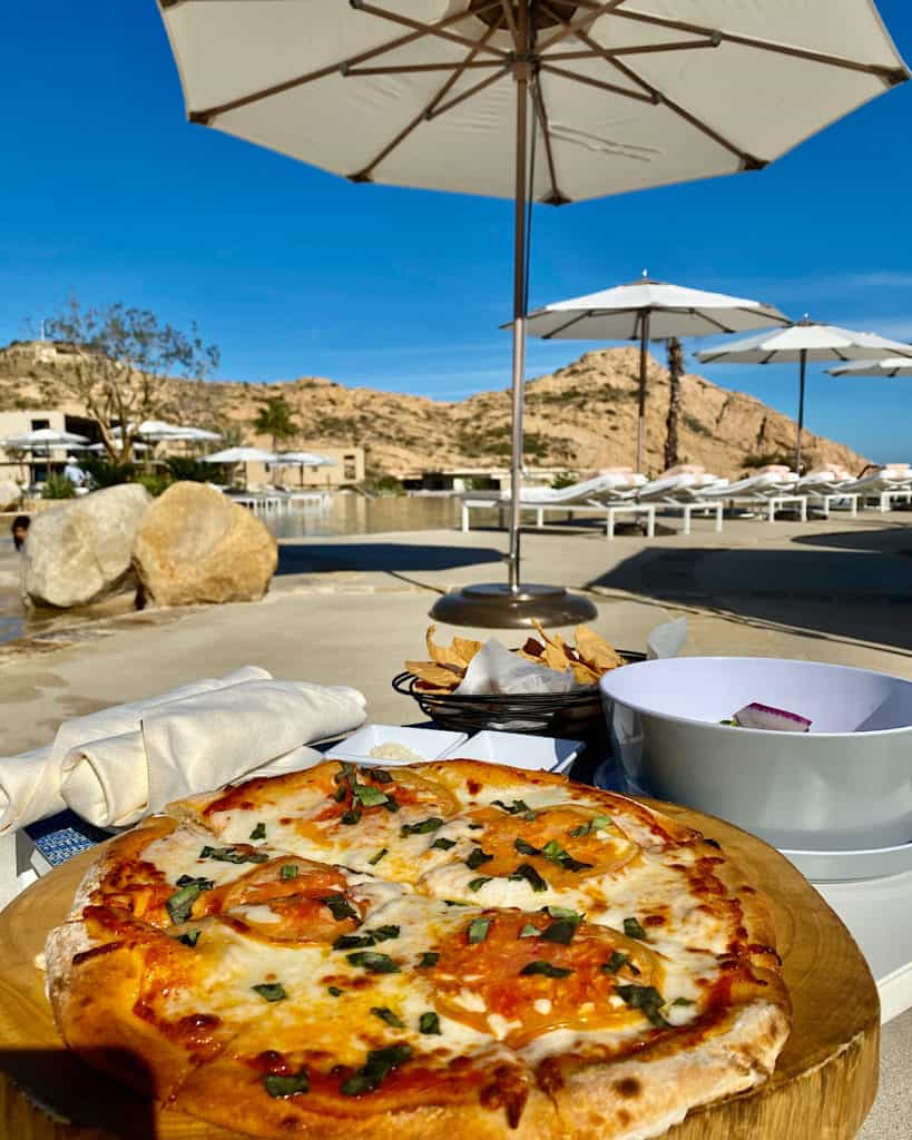 Gorgeous food at Montage Los Cabos, Cabo san Lucas