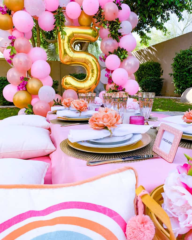 Quarantine party ideas - 5th birthday party at home