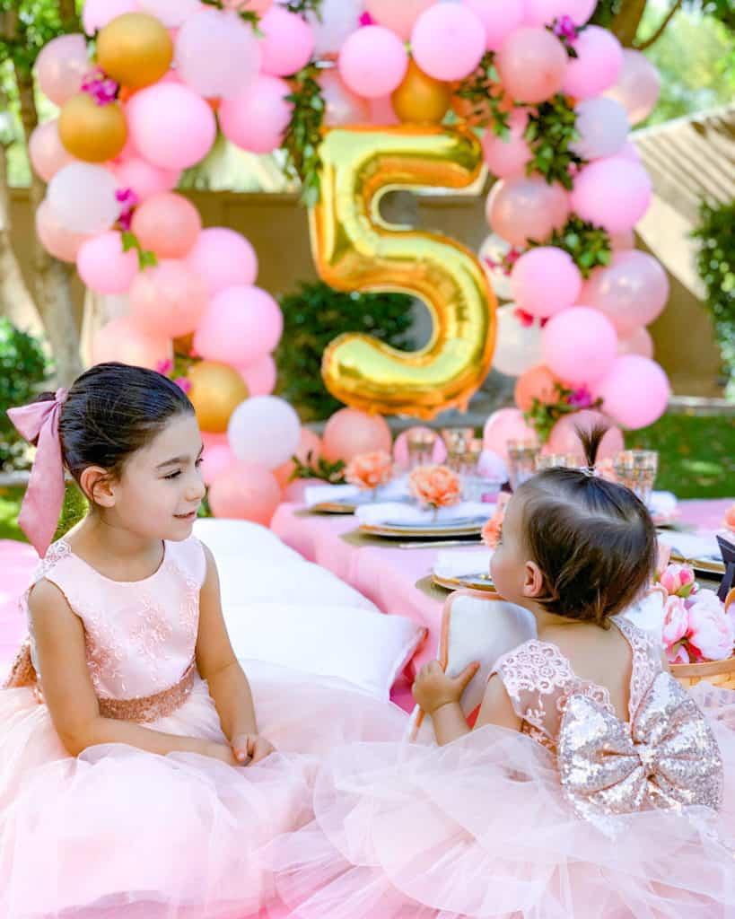 Quarantine party ideas - garden birthday party