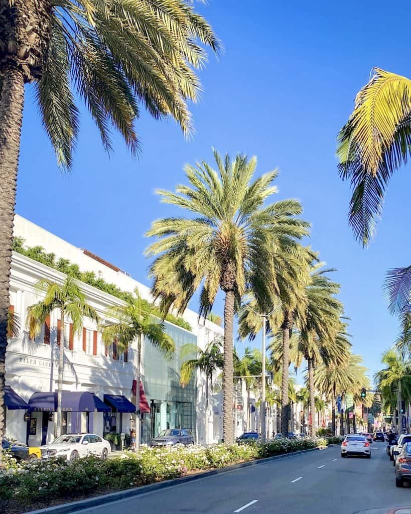 3 Days In Los Angeles itinerary - Rodeo Drive