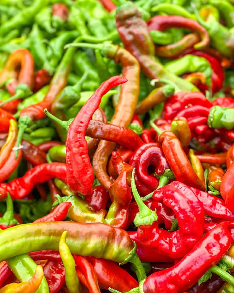 3 Days In Los Angeles itinerary - chillies at 3rd Street Farmers Market