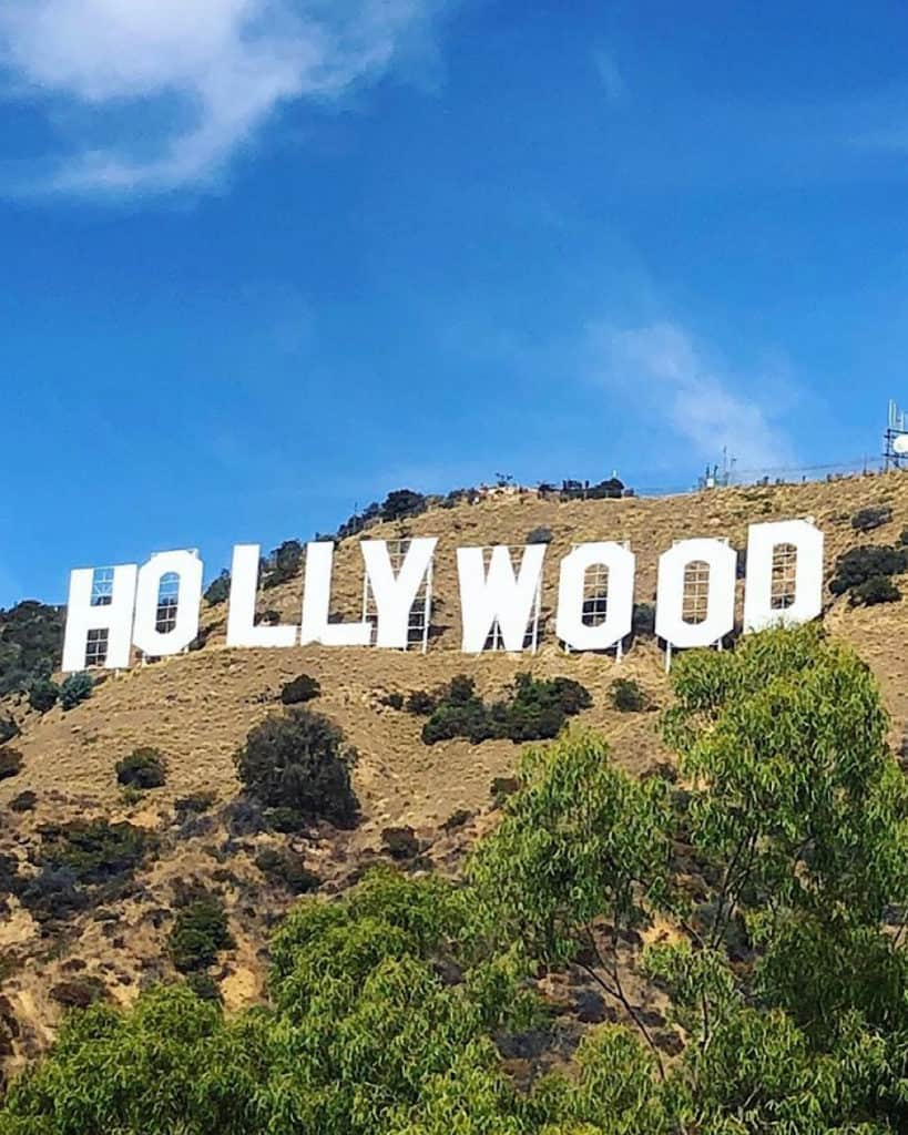3 Days In Los Angeles itinerary - hike to Hollywood Sign