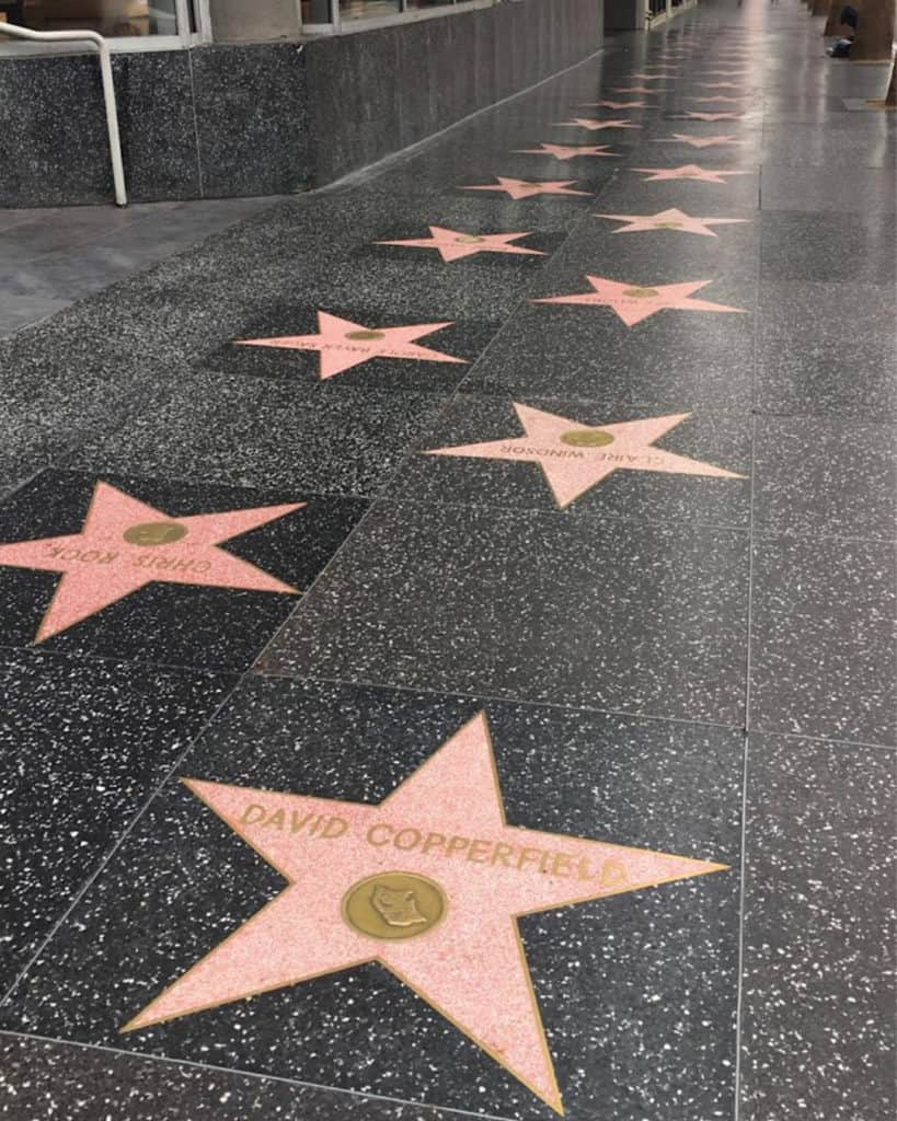 3 Days In Los Angeles itinerary - Hollywood Walk of Fame