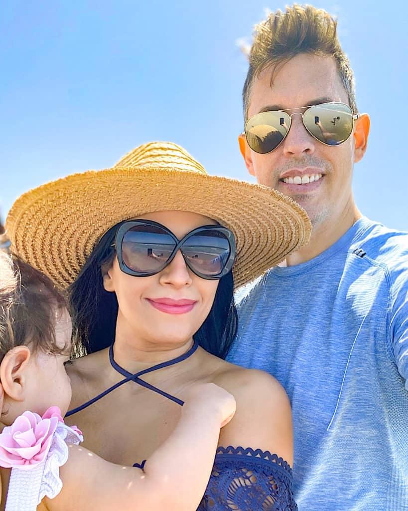 Family pic at Santa Monica!