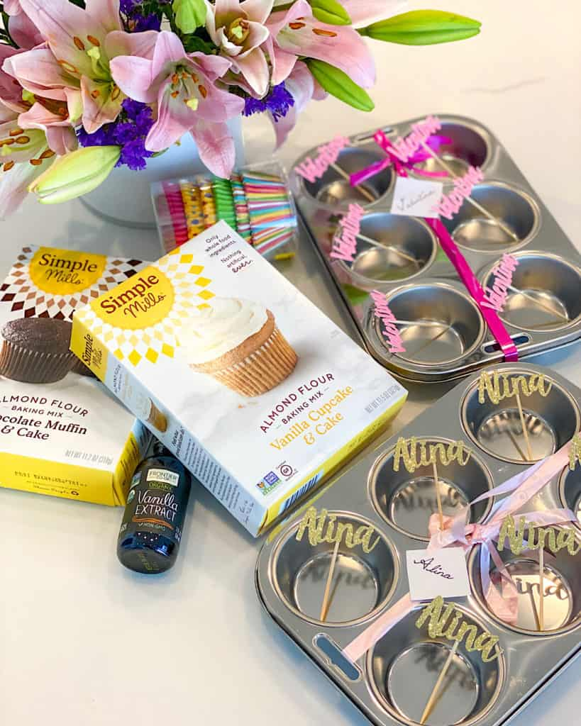 Gluten free cupcake mixes and muffin trays - simple baking recipes to try with your kids