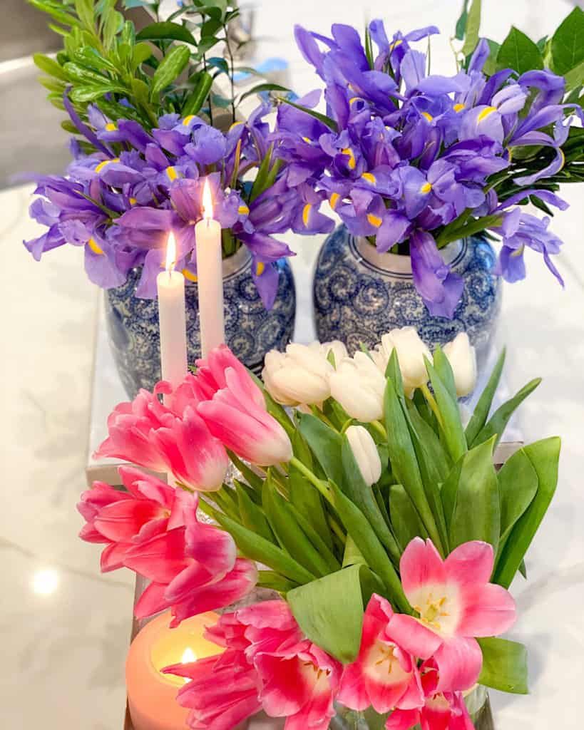 How to create a spring floral arrangement.