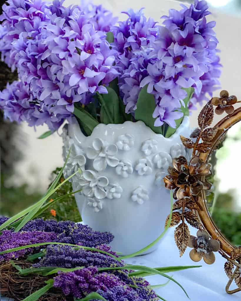 Nowruz table decorations - Hyacinth