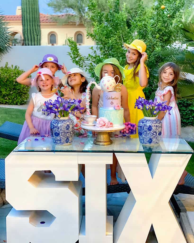 6 year old girls birthday party