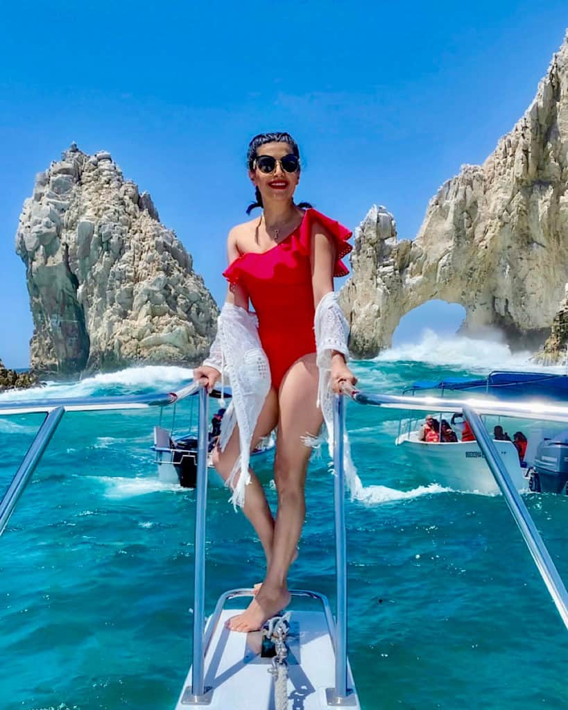 Incredible experiences in Cabo San Lucas - taking a boat trip to El Arco