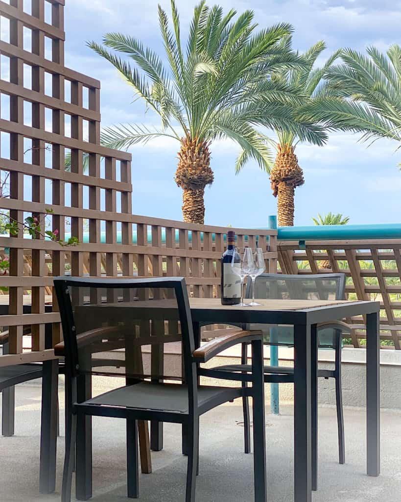 Hyatt Regency Scottsdale Arizona bar area