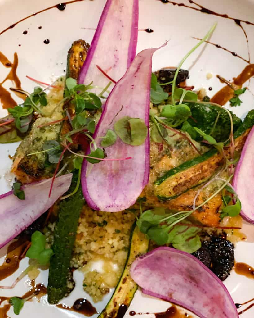 Colorful fresh meal at Hyatt Regency Scottsdale Arizona