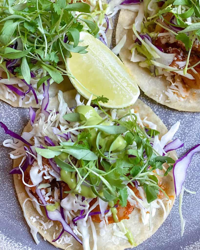 Fresh tacos at the restaurants at Hyatt Regency Scottsdale Arizona