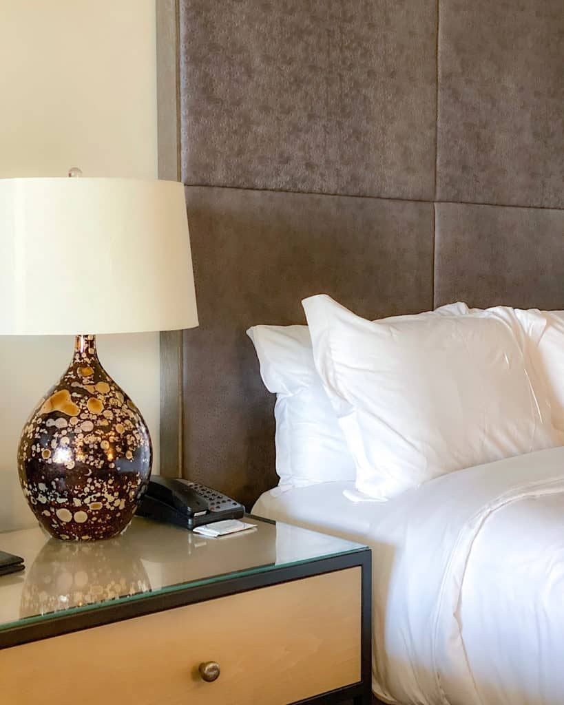 Inside our room at the Phoenician - travel guide