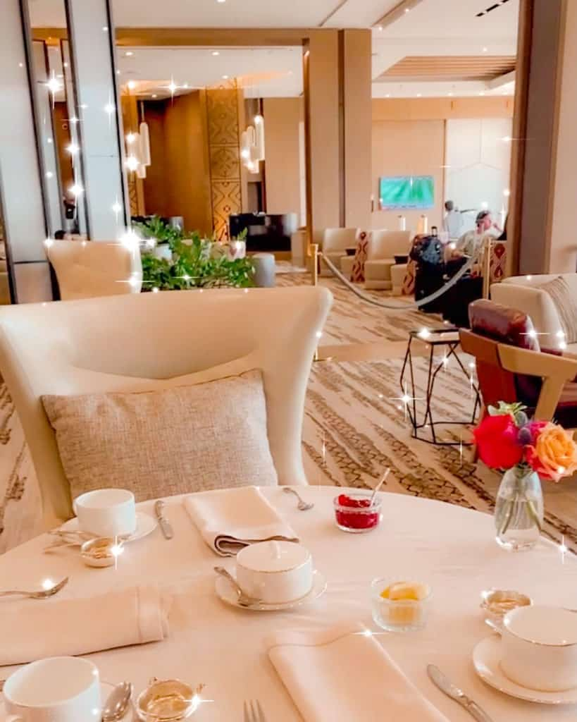 Afternoon Tea at the Phoenician