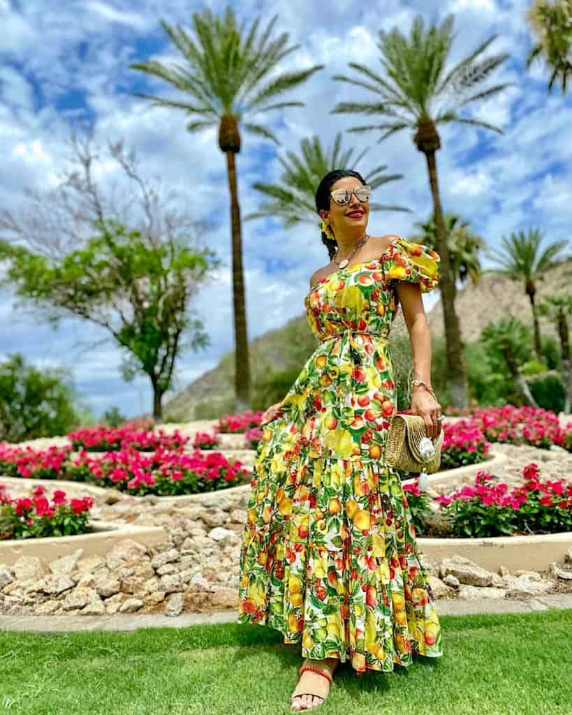 Me in the Gardens of The Phoenician